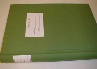 CR18005 - Command Log Book